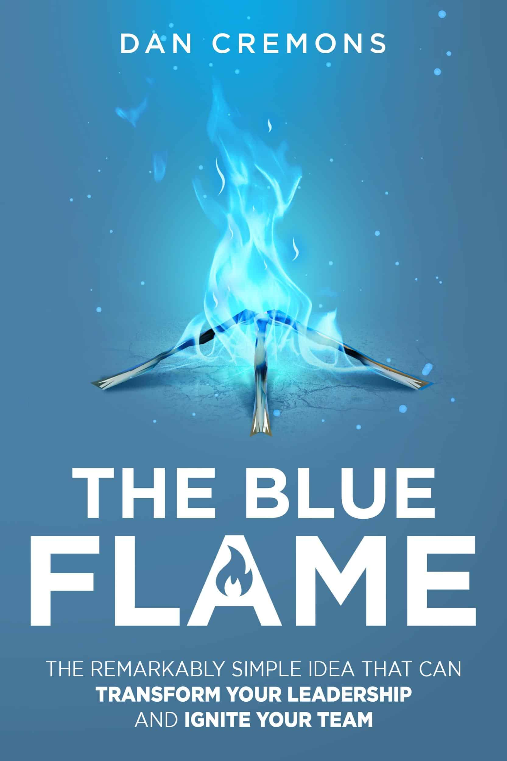 Blue Flame Book Cover