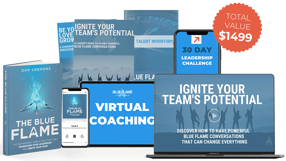 Leader Coaching Kit for Blue Flame by Dan Cremons